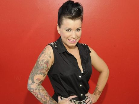 Cindy Draper is competing in the Miss Ink Australia competition.