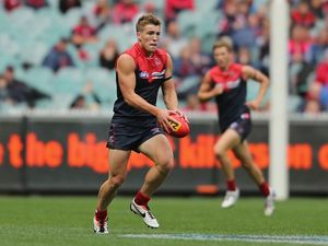Viney one of AFL's star sons following in fathers footsteps