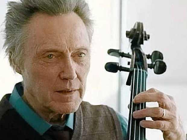 OUTSTANDING: Christopher Walken is the cellist/leader of the string quartet.