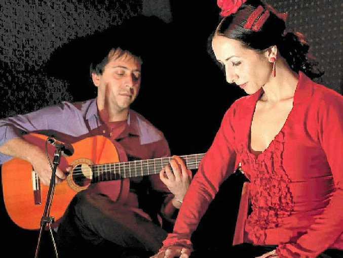 OLE!: Rosalie Cocchiaro and Manuel Cazas bring true Spanish flamenco to Bangalow Catholic Hall this Friday.