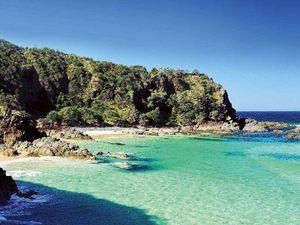 Whites Beach a ripper swim spot in NSW