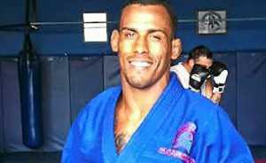TRAINING: Juliano Pereira Macario at the Ballina gym.