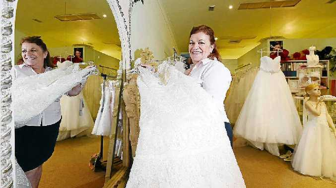STYLE: Treudie Kaehler from Paradise Brides will once again showcase her bridal collection at the Ballina Bridal Expo.