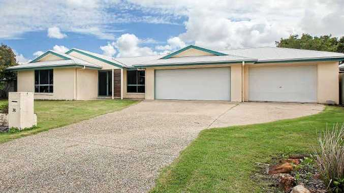 30 Satinash Pl is a four-bedroom home near Mudjimba beach.