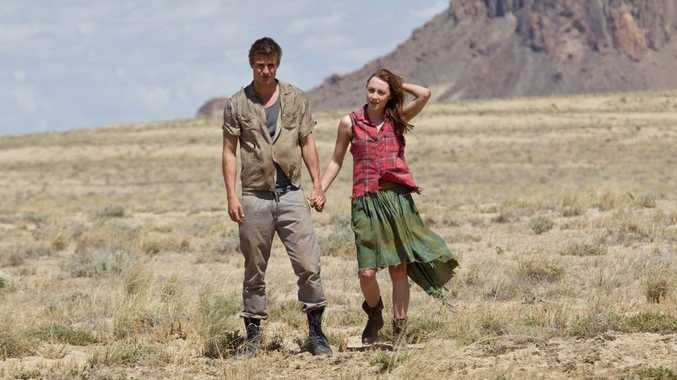 Max Irons and Saoirse Ronan in a scene from the movie The Host.