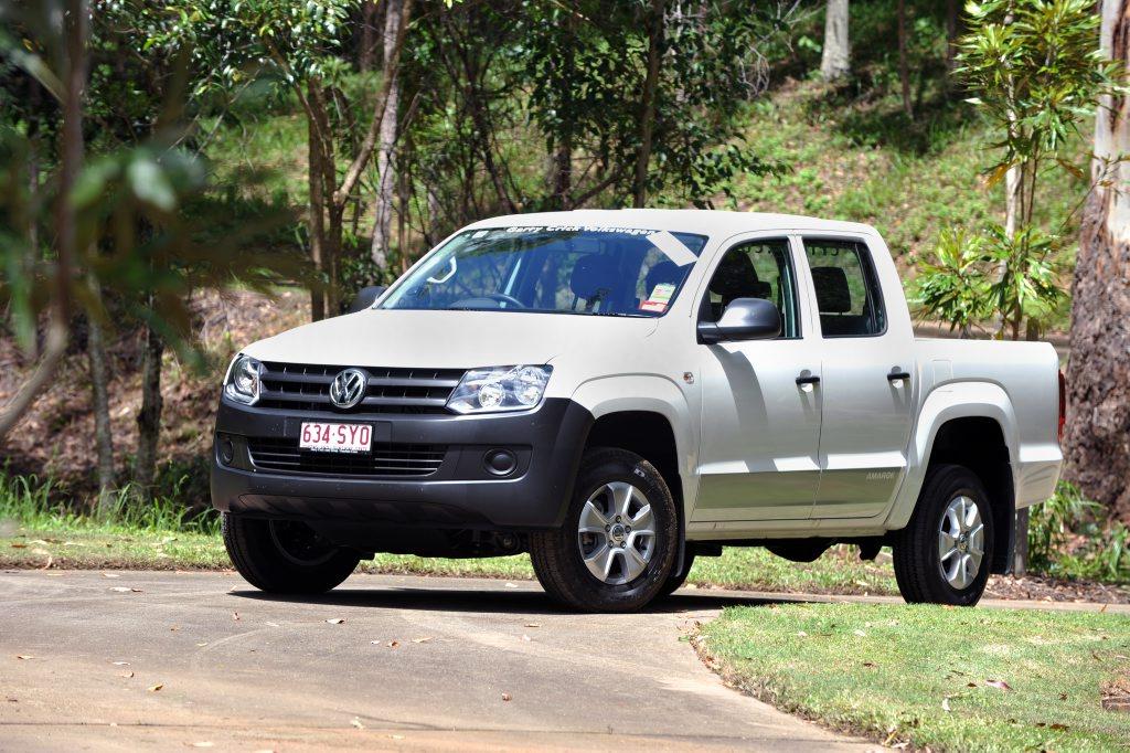 The Volkswagen Amarok.