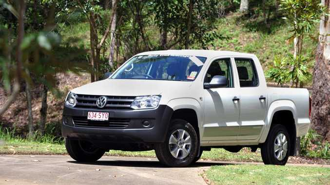 The Volkswagen Amarok.