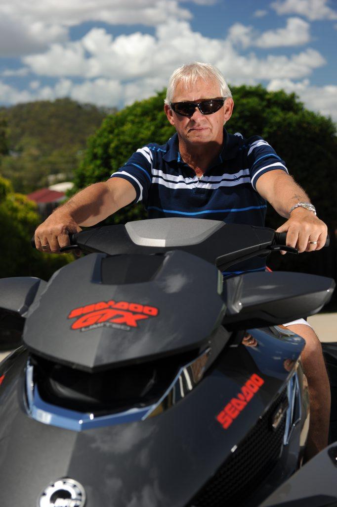 Allan Fredricks and his brand new 2013 SEA-DO.