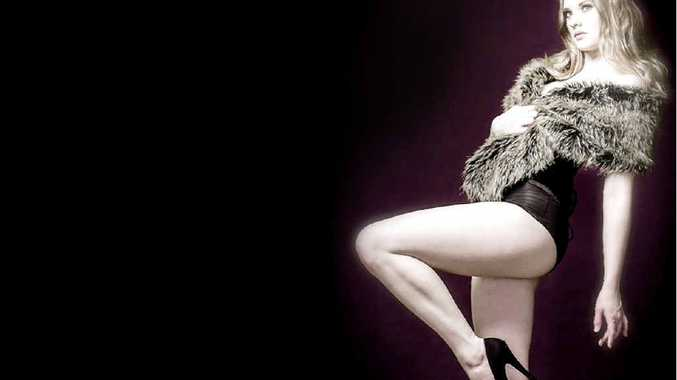 CHEEKY: Miss Ruby Little will be modelling for Dr Sketchy's Byron Bay Burlesque Life-Drawing class on April 16.