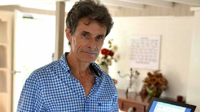 Business owner Dr David Thomas says Mackay's Telstra internet service is worse than a Third World country.