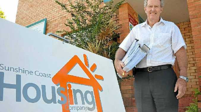 BIG HELP: Morrie Evans, CEO of the Coast2Bay Housing Group, the not-for-profit organisation managing the affordable housing scheme on the Sunshine Coast, says he is receiving inquiries daily.