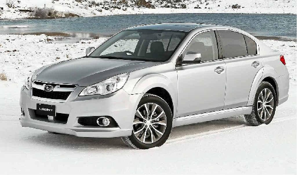 Subaru's Liberty X.