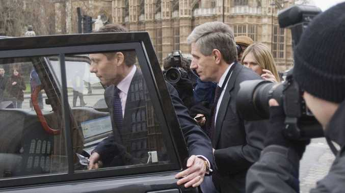 HBOS executives Andy Hornby, left, and Lord Stevenson. Their apologies for the loss imposed upon the taxpayers ring hollow, says report.