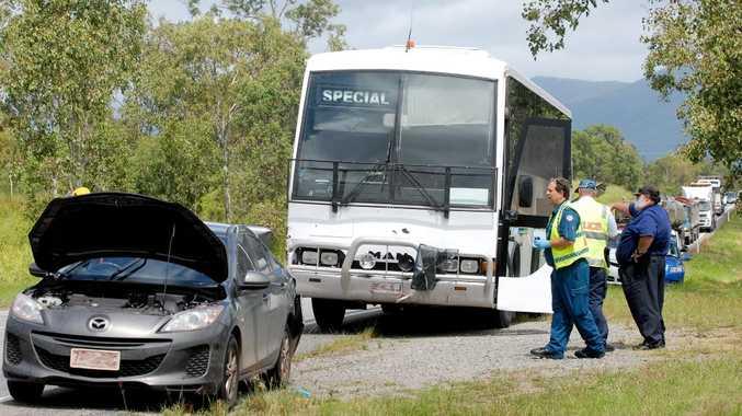 Accident on the Peak Downs Highway near Eton Photo Tony Martin / Daily Mercury
