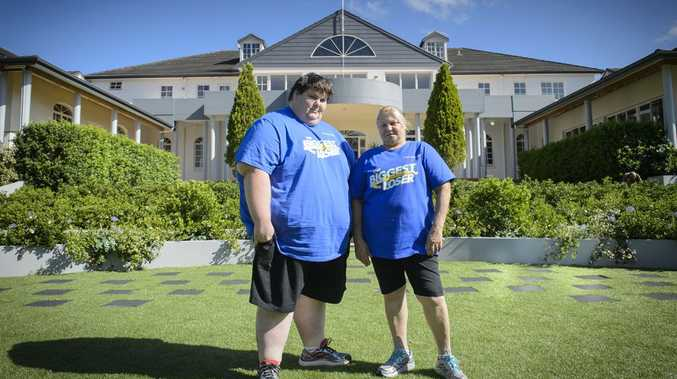 Kevin Moore and Rosemary Reynolds from the Biggest Loser