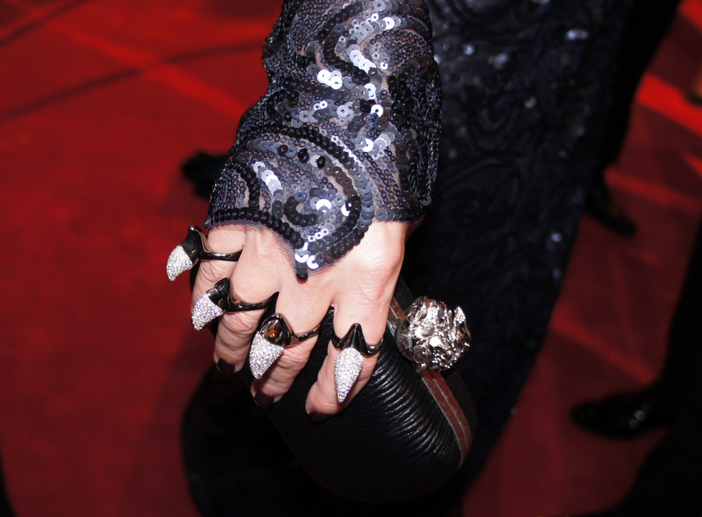 Sonia Kruger sports some serious bling on the 2013 Logies red carpet.