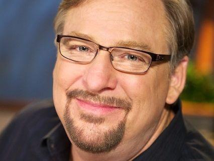 Rick Warren, author of The Purpose Driven Life.