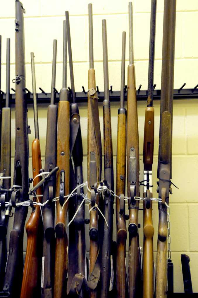 More than 16,000 guns are being processed as part of the latest amnesty in Queensland.