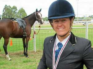 Sarah's life in the saddle pays off with fitting win