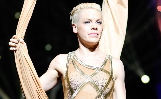 Pink on her 'Truth About Love' tour.