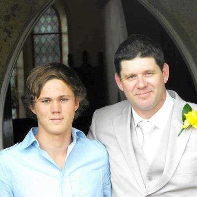 Promising young Coffs Coast footballer and Toormina High School student Jake Kedzlie.