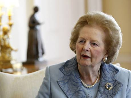 Margaret Thatcher, Britain's first female Prime Minister, died after having a stroke.