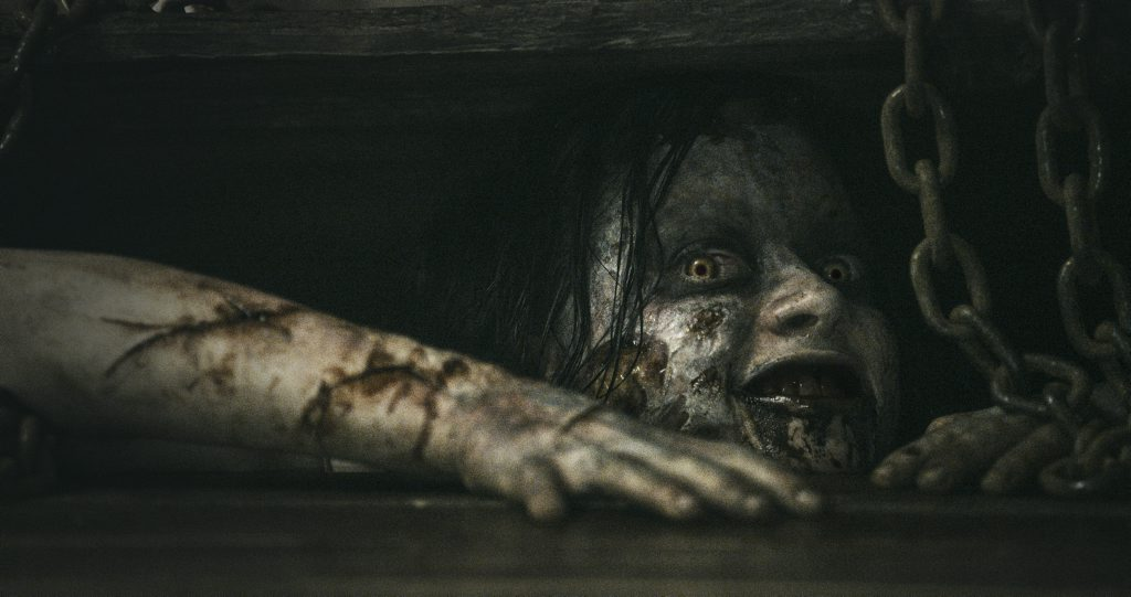 Jane Levy in a scene from the movie Evil Dead.