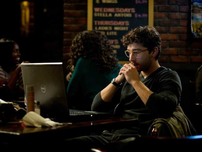 Shia LaBeouf in a scene from the movie The Company You Keep.