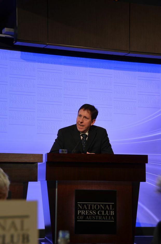 WARNING: Australia Trucking Association Chairman David Simon said the governments roads funding system was broken.