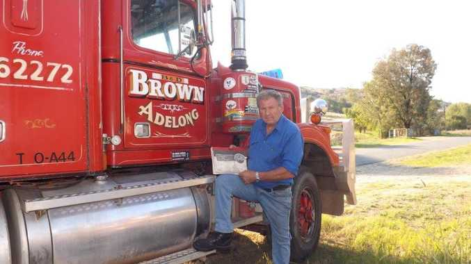 Bunny Brown has taken legal action agains the Federal Government to stop the police harrassing truckies about their log books.