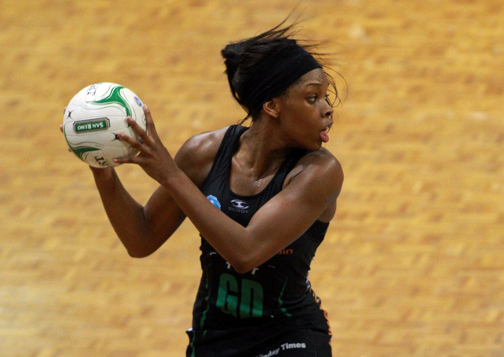 Eboni Beckford-Chambers of the West Coast Fever.