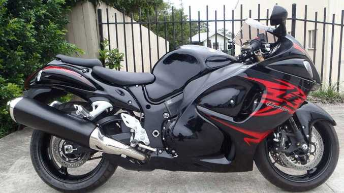 MEAN MACHINE: This 2011 Suzuki Hayabusa is the latest bike stolen from Top Gun Yamaha at Bundamba.
