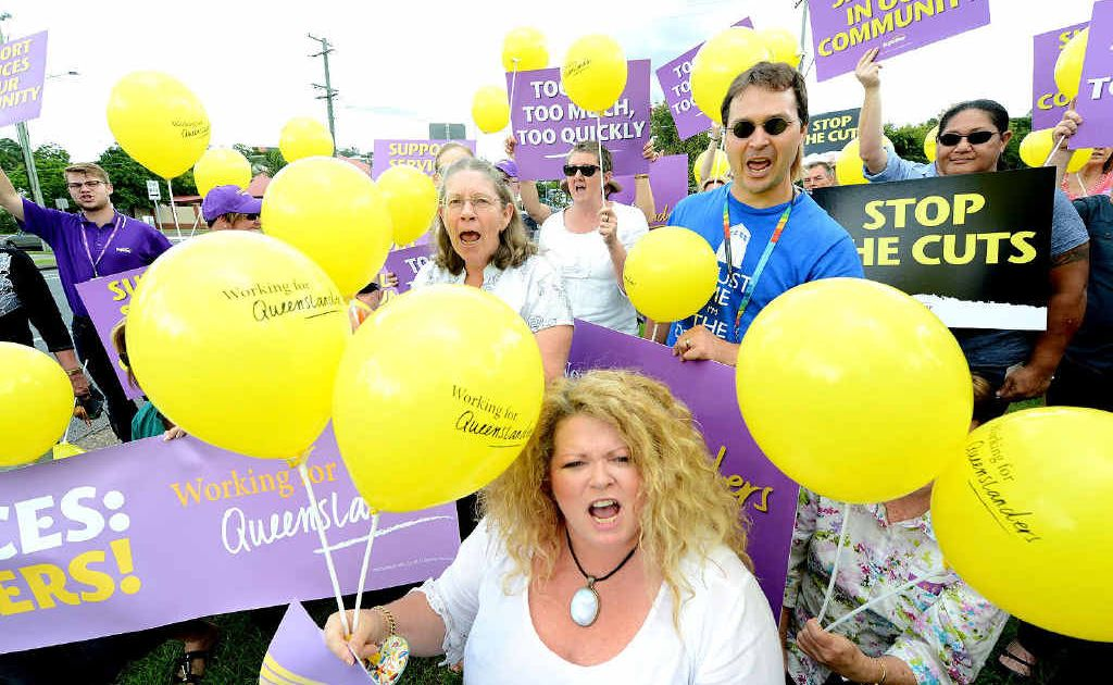 Australians are prepared to fight for these disabled, as this Ipswich rally showed.
