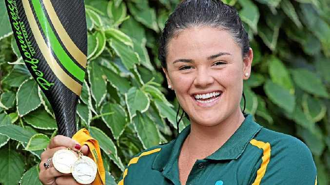 Coco Howcroft reaped three gold medals and one silver in the Australian Canoeing National Championships in Perth last week and she's got her gaze firmly set on the Rio Olympics.