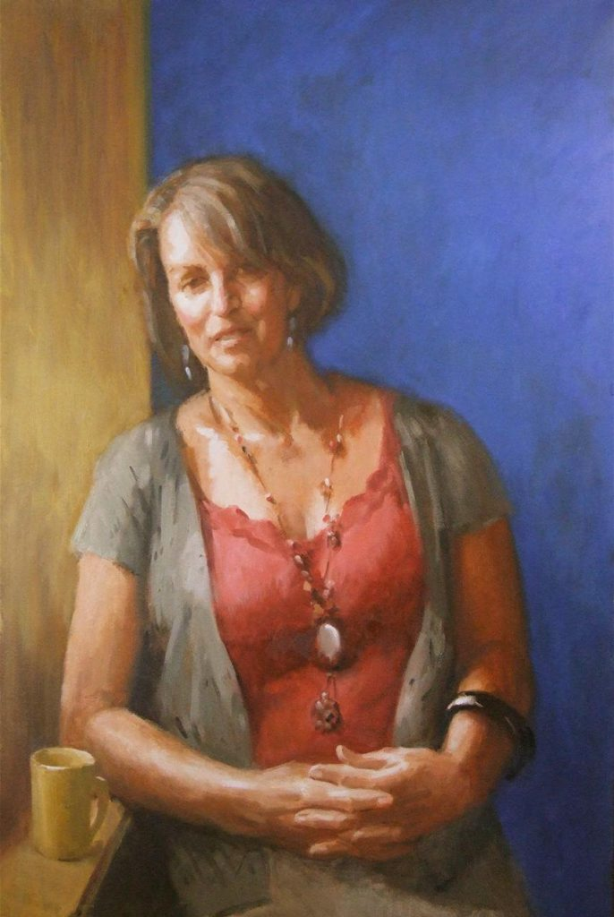 Harry Westera painted this portrait of his wife Grace for the Northern Rivers Portrait Prize.