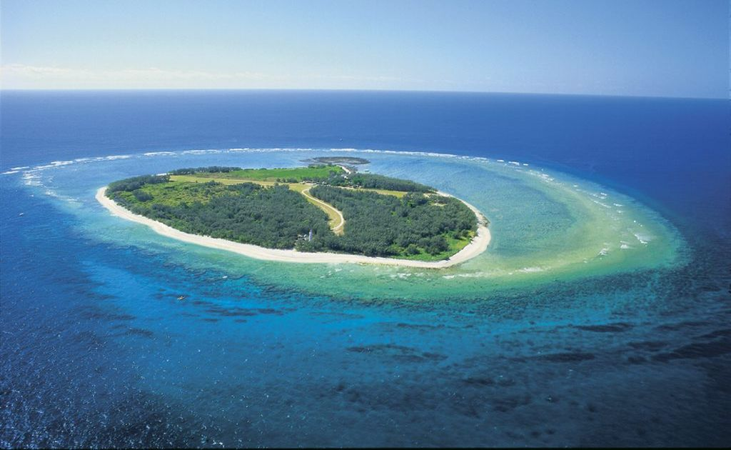Lady Elliot Island, on the Great Barrier Reef.
