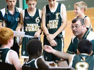 State test for U14 basketball team