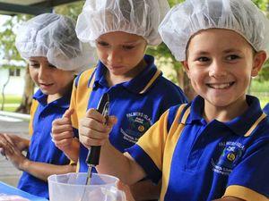 Healthy school meals excite students