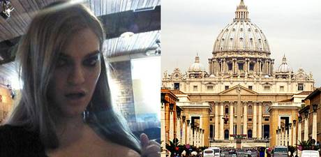 TorrentFreak.com claimed a number of films, including some starring transsexual porn star Tiffany Starr, were discovered on a list of torrents downloaded in the Vatican City