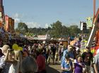 Sideshow alley at the Heritage Toowoomba Royal Show will be a hit with residents on People's Day.