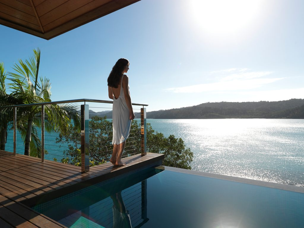 VMR Whitsunday was asked by Water Police to transfer a protection officer to Hamilton Island.