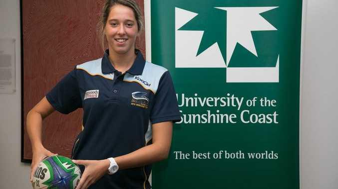 Encouragement Foundation Rugby Scholarships, University of the Sunshine Coast. Erica Fowler.