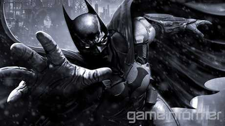 Cover of May edition of Gameinformer announcing video game Batman: Arkham Origins.