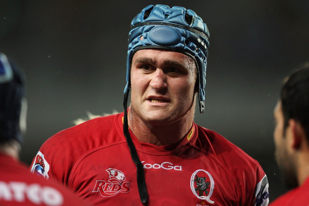 James Horwill of the Queensland Reds.