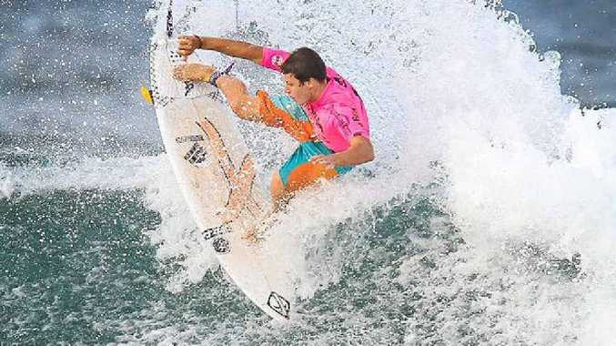TOP PERFORMER: James Wood performed well in the Le-Ba team at the Jim Beam Surftag Australian Championships.