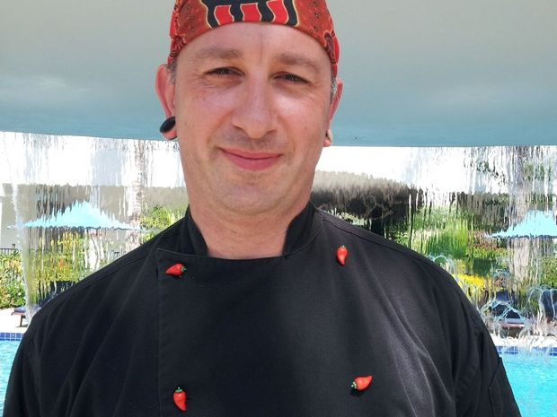 Peppers Beach Club & Spa Executive Chef Thomas Ege.