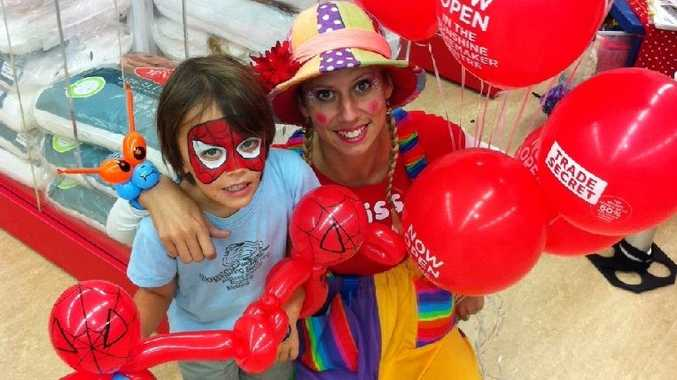 Party time as the new Maroochydore Trade Secret store opens.