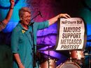 """JENNY Dowell has predicted police and """"a lot of government resources"""" would be needed in the event of Metgasco proceeding with plans to conduct seismic testing."""