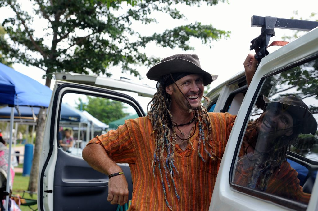 Dr Seuss fan Robert Springer is going to change his name legally toZanzibar Buck Buck McFizz Photo: Robyne Cuerel / Fraser Coast Chronicle