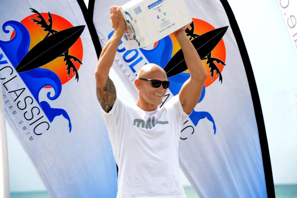 Michael Klim at the Cooly Classic swim Photo: John Gass / Daily News